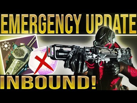 Destiny 2 News. EMERGENCY HOTFIX INBOUND!