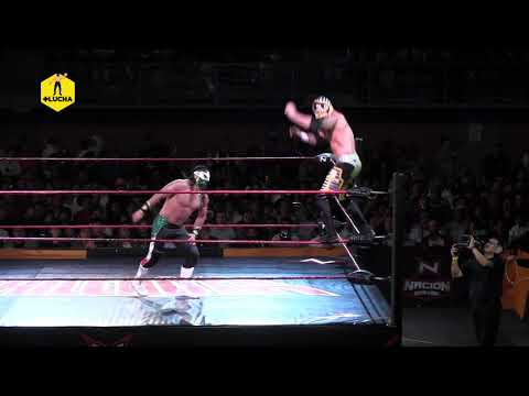 Rey Horus VS Bandido - Nación Lucha Libre - Sala de Armas