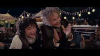 LOTR The Fellowship Of The Ring - Extended Edition - Bilbos Birthday Party HD 1080p