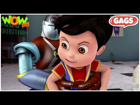 Vir: The Robot Boy    Compilation #10 - As seen on Hungama TV   Action Show For Kids   WowKidz