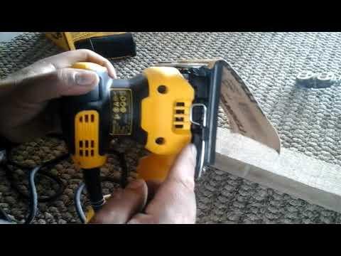 Funcionamiento de lijadora orbital o de 1/4 de hoja/Operation of orbital or 1/4 blade sander.