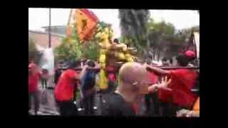 preview picture of video '印尼中爪哇古突市福興廟尾芽眾神出廟巡游 { 2 } Kirab Sriwijaya'