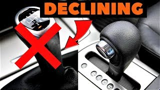 4 Reasons Why Manual Transmissions Are Dying