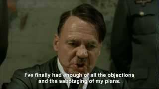 Hitler plans his final plan
