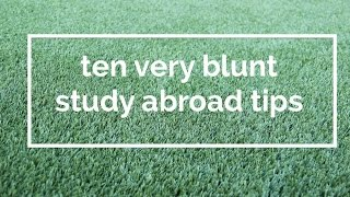 Image from 'Blunt Study Abroad Tips for Students'