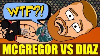 UFC Parody: Conor Mcgregor vs Nate Diaz in 1 Minute