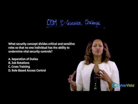 CISM Question Breakdown - YouTube