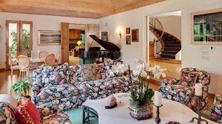 Inside Bob Newharts $15.5M 1941 French Country Style Estate