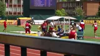 WJCH Eugene Decathlon - Jan Dolezal Long jump 696cm +0,8 ms