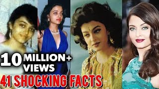 Aishwarya Rai 41 SHOCKING Facts That You Didn't Know | Happy Birthday Aishwarya Rai