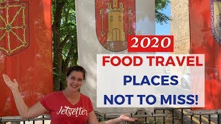 BEST TRAVEL DESTINATIONS  For FOOD LOVERS |  FOODIE HOTSPOTS 2020 TRIP PLANNING