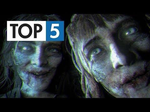 TOP 5 - Hororových adventur