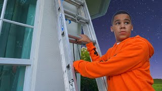 Teenager SNEAKS OUT at Night, Learns His Lesson   FamousTubeFamily