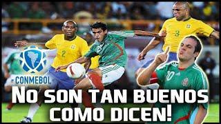 10 Goleadas de la Selección Mexicana a selecciones de CONMEBOL