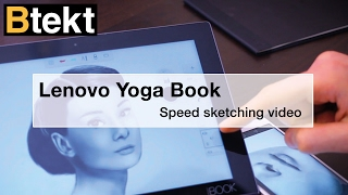Our friends at Btekt have been creating some amazing art on the Yoga Book Check it out