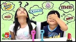 Can We Find The Name / Favorite Brand? (GAME) / Taste Buds Challenge Kids' Edition in Elee's World
