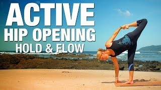 Active Hip Opening Hold & Flow Yoga Class - Five Parks Yoga