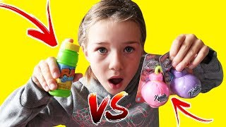 Geschenke von TipTapTube: Fun Bubbles vs. Kreidebomben - Lulu & Leon - Family and Fun