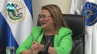 San Salvador, 12 de abril de 2018. firma de convenio PDDH y Proyecto Derechos y Dignidad