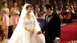 周杰倫與昆凌教堂婚禮畫面 Jay Chou & Hannah Quinlivan's Wedding@ Selby Abbey, Yorkside - Video Youtube
