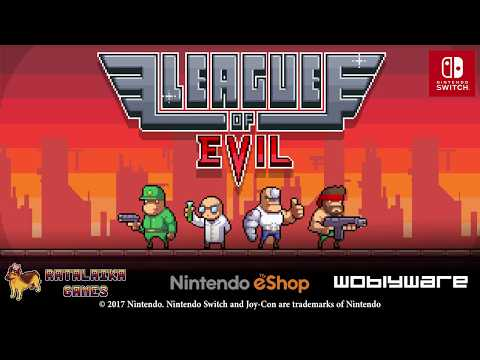 League of Evil - Nintendo Switch Launch Trailer thumbnail