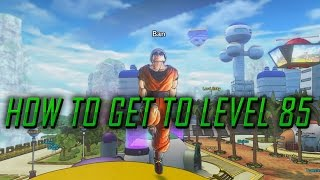 HOW TO GET MAX LEVEL CAP 85! EXPLAINED! | Dragon Ball Xenoverse 2