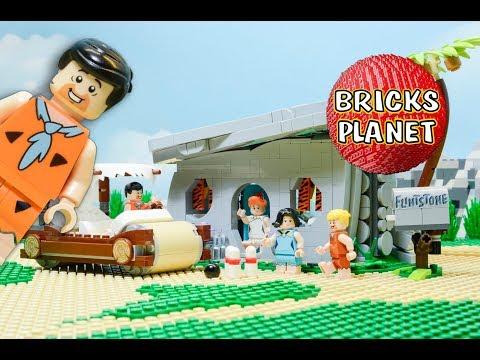 Vidéo LEGO Ideas 21316 : Les Pierrafeu