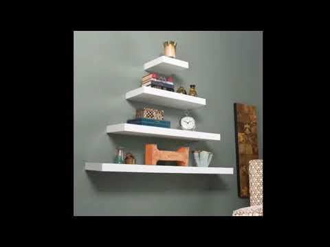 White Floating Shelves - Extra Long White Floating Shelves | Best & Easy Tricks To Organize Mp3