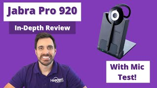 Jabra Pro 920 In-Depth Review With Mic Test!