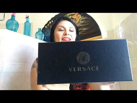 Real or Copy?! EzContacts Unboxing | Versace Tribute sunglasses