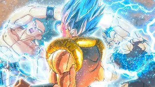 DBXV2: EPIC GOGETA SSB FUSION SCENE AGAINST BROLY! - Xenoverse 2 Parallel Quest Mods