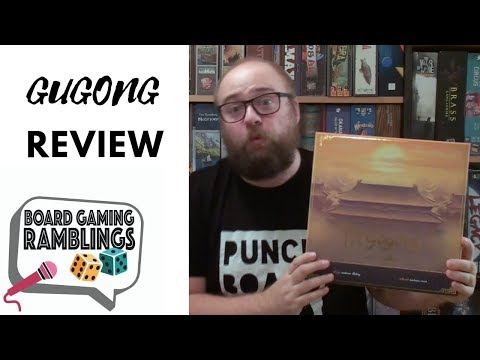Board Gaming Ramblings: Gugong Review