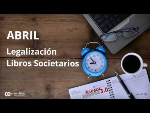 ¡Fecha límite!, legalización libros societarios