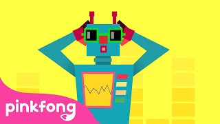 Square Robot 🤖   Shape Songs   Pinkfong Songs for Children