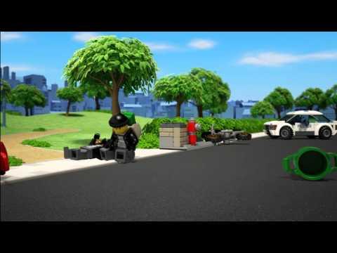 Vidéo LEGO City 60042 : La chasse aux bandits