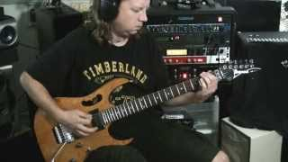 Exodus Sealed with a Fist-guitar cover with solos
