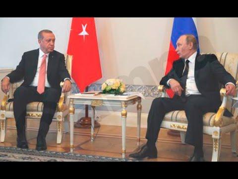 Β. Πούτιν: Να αποκατασταθεί ο διάλογος με την Τουρκία
