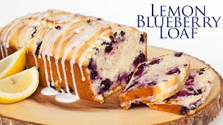 lemon loaf with cake mix and pudding