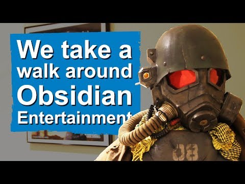 We take a walk around Obsidian Entertainment (and narrowly avoid their secret project)