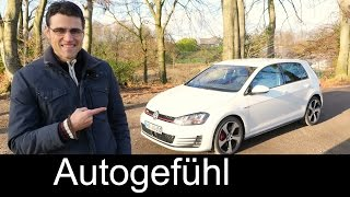 Volkswagen Golf 7 GTI Performance 2015 test drive REVIEW VW Golf GTI - Autogefühl