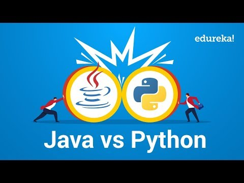 Java vs Python Comparison | Which One You Should Learn? | Edureka