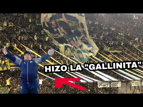 """IMPRESIONANTE RECIBIMIENTO a Maradona en la BOMBONERA"" Barra: La 12 • Club: Boca Juniors • País: Argentina"