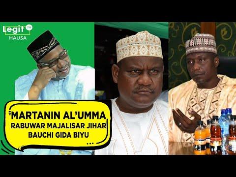 Martanin Al'umma: Rabuwar majalisar jihar Bauchi gida biyu | Legit TV Hausa