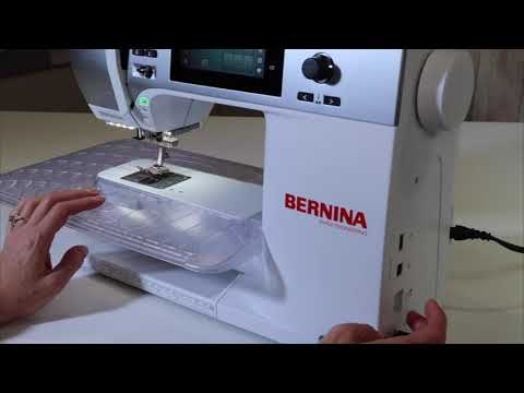 Bernina 480 30 How to Lower the Feed Dogs