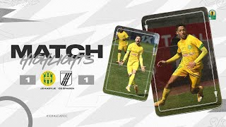 CAF CC | Quart de finale Retour : JS Kabylie 1 – 1 CS Sfaxien