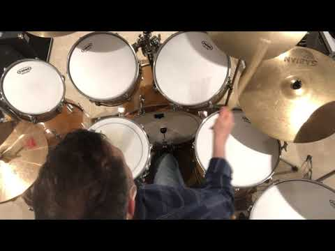 Tom Sawyer drums only on Rogers XP-8 kit