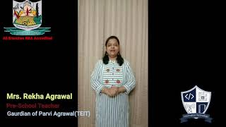 Parents Testimonials   Department of Information Technology   A. P. Shah Institute of Technology
