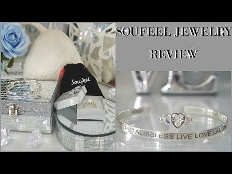 SOUFEEL JEWELRY ENGRAVABLE BANGLE & BLING RING REVIEW