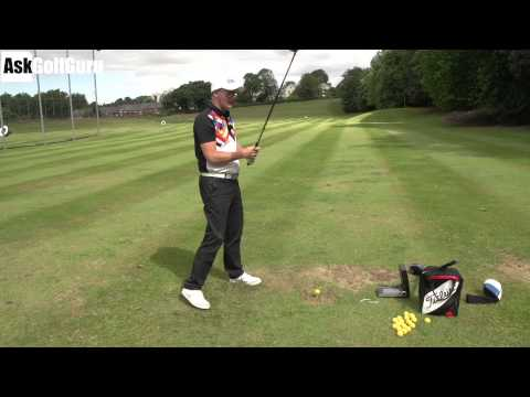 Hitting Straighter Tee Shots Golf Lesson