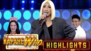 Vice Ganda finds out something about his best friend and Ion Perez | It's Showtime KapareWho